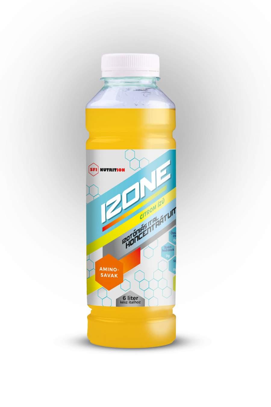 IZONE izotóniás koncentrátum, epres citromos ízű